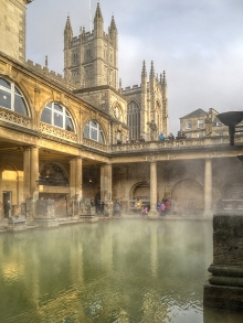 Bath, Roman Baths, Somerset © David Dixon